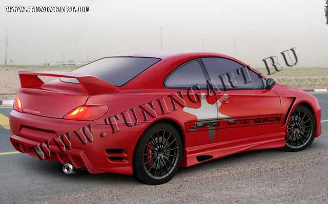tuning rear bumper for peugeot 406 coupe. Black Bedroom Furniture Sets. Home Design Ideas