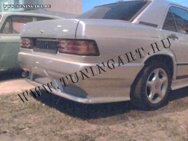 Tuning Rear Bumper For Mercedes 190 W201