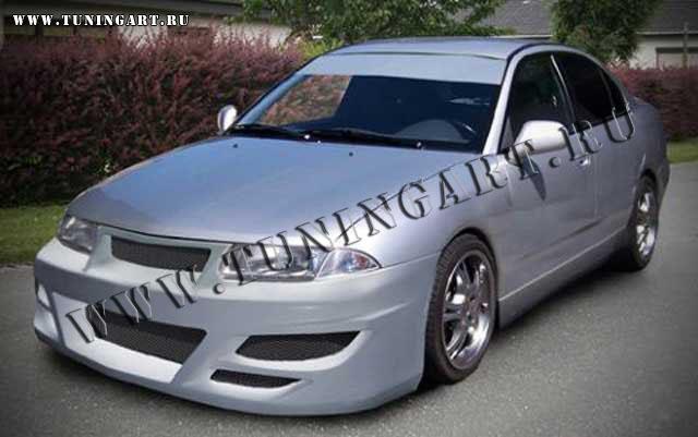 Tuning Front Bumper For Mitsubishi Carisma 04
