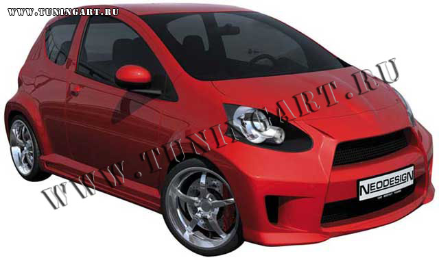 tuning bodykit neodesign for toyota aygo. Black Bedroom Furniture Sets. Home Design Ideas